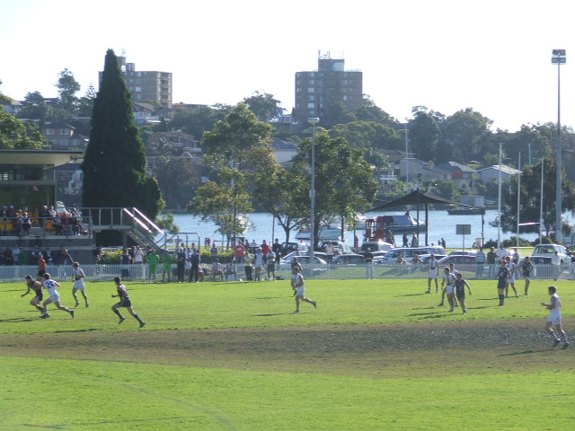 Picturesque Drummoyne Oval