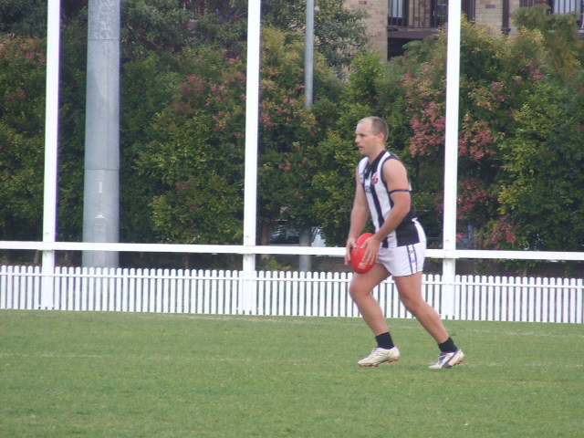 Cameron French scores for the Magpies