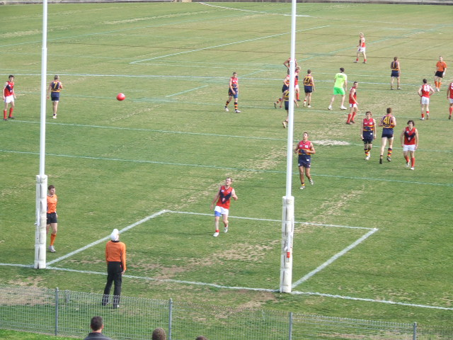 An open goal for the Demons